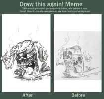 Before and After Meme by Mickeymonster