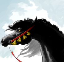Mare Speed Paint by AmandaRaquel