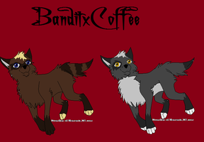 BanditxCoffee for LadyLuigi95 by Sterling-Adopts