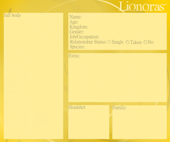 Lionoras App Sheet by VentiusX