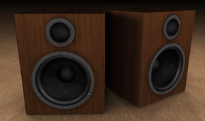 Wooden Classic Speakers by fukm