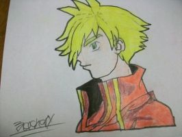 Shonen Drawing 1 by zack-pack