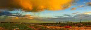 A Sunrise Over The Plains by kkart