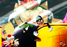 Bowser's Pinball Party by Hugo-H2P