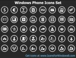 Windows Phone Icons Set by Ikont