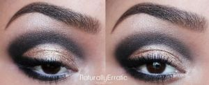 Glam Smokey eye Prom Makeup by NaturallyErratic