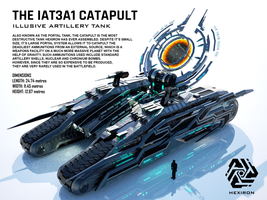 IAT3A1 Catapult Illusive Artillery Tank by Duskie-06