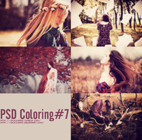 PSD Coloring#7 by SickyJinny