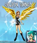Golden Angel by CaptainMexico