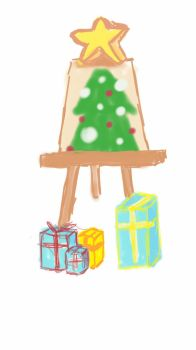 just a cristmas tree T^T by yadamonje
