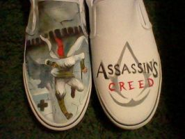 Assassin's Creed shoes by Lemguin