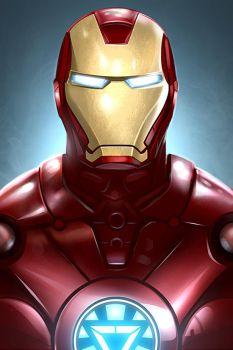 IronMan psd included by TheFearMaster