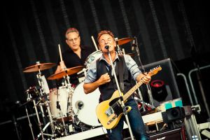 Bruce Springsteen and E Street Band by Aku-Axel-Muukka