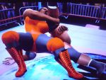 Black Venus package piledrives Roderick Strong 15 by fzero64