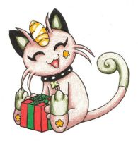 Shammy-Chan's Gift by paper-flowers
