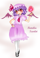 Remilia Scarlet by lemon-sugars