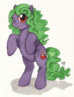 StrawberryFlower - Gift by SilverRacoon