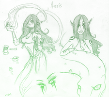 Character Focus: Averis by Itsy-Bitsy-Spyder