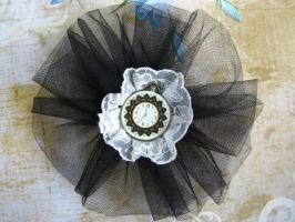 Steampunk Barrette by bcainspirations