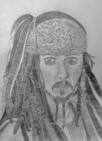 Jack Sparrow Drawing by Obscenely-Delicious