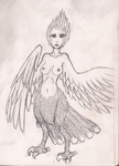 Harpy by silent-ebb