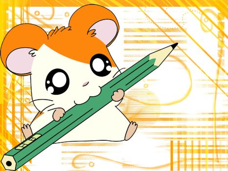 Hamtaro wallpaper by ShiningDiaruga