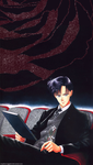 Mamoru in the Theatre by soapboxinggeek