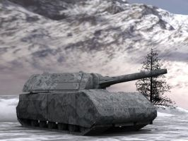 3D tank by Laserbot