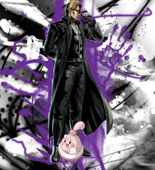 Wesker And Happiny by PiplupSTARSCommander