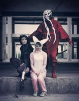 Ergo Proxy - the happy family by Tanuki-Tinka-Asai