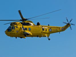 Westland Sea King May Duxford 2012 by davepphotographer