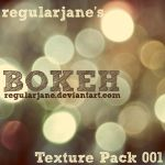 Bokeh Texture Pack 001 by regularjane