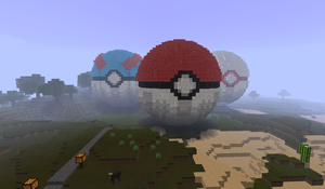 Pokeballs by Claky