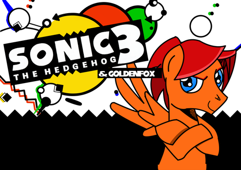Sonic the Hedgehog 3 and GoldenFox by DBurch01