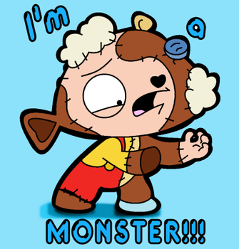 I'm a MONSTER by LeeRoberts