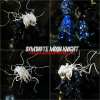 CUSTOM SYMBIOTE MOON KNIGHT by symbiote-x