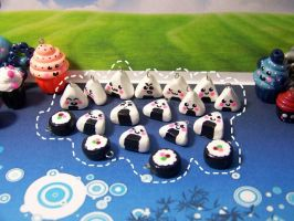 Onigiri Charms by Shelby-JoJewelry