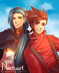 Lloyd and Yuan by Noctuart