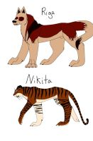 Riga and Nikita ref by alicesapphriehail