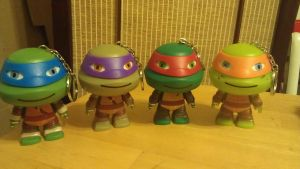 chibi tmnt speakers by WolffangComics