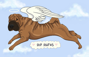Handsome Angel Rufus by RaiDoodles