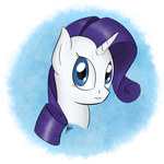 Rarity - Style and Brush Test by DodgeThunderstorm