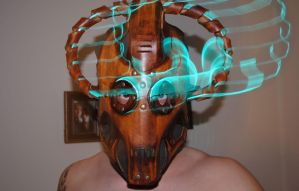 Steampunk Cybermen Mask 2 by Epic-Leather