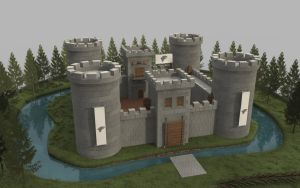Stark Castle by cr8g