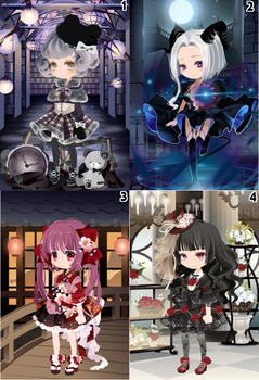(CLOSED) Free Selfy Adopts! [Batch 17] by AndIShatter