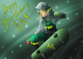 DeviantART Fella turns 14!!! by JaxAugust