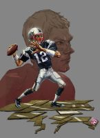 Tom Brady by A-BB