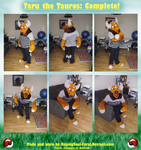 Taru the Tauros Cosplay by SpizFeral