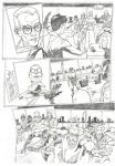 Teen Titans Page 3 Sample - A3 pencil by IgorChakal