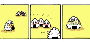 The Tales of Onigiri Sheep ~ The Ugly Onigiri by TanoshiiGirl